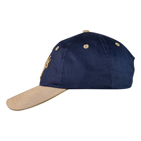 It's A Dog's Life Embroidered Baseball Cap - Navy/Beige - Its A Dogs Life | Clothing & Gifts