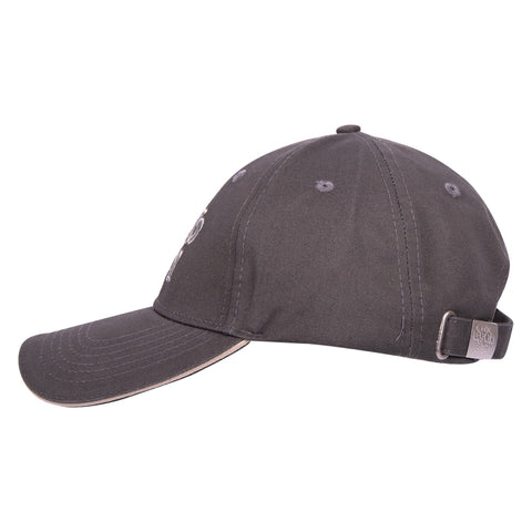 It's A Dog's Life Embroidered Baseball Cap - Charcoal - Its A Dogs Life | Clothing & Gifts