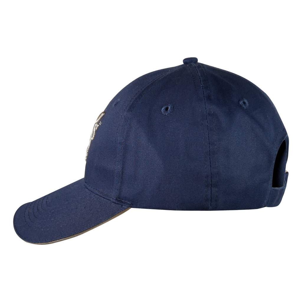 It's A Dog's Life Embroidered Baseball Cap - Navy/Silver Grey - Its A Dogs Life | Clothing & Gifts