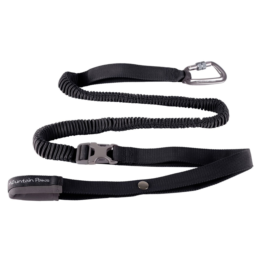 Shock Absorber Dog Lead - Black - Its A Dogs Life | Clothing & Gifts