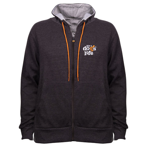 It's A Dog's Life Full Zip Hoodie - Its A Dogs Life | Clothing & Gifts