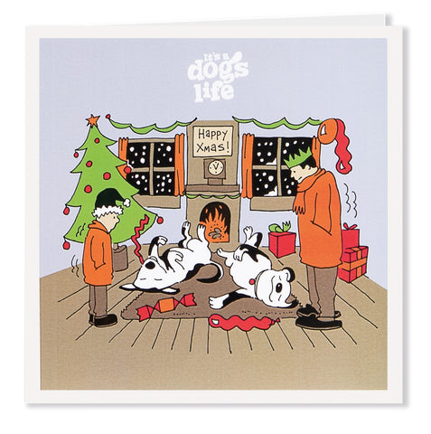 Christmas Fireplace - Its A Dogs Life | Clothing & Gifts