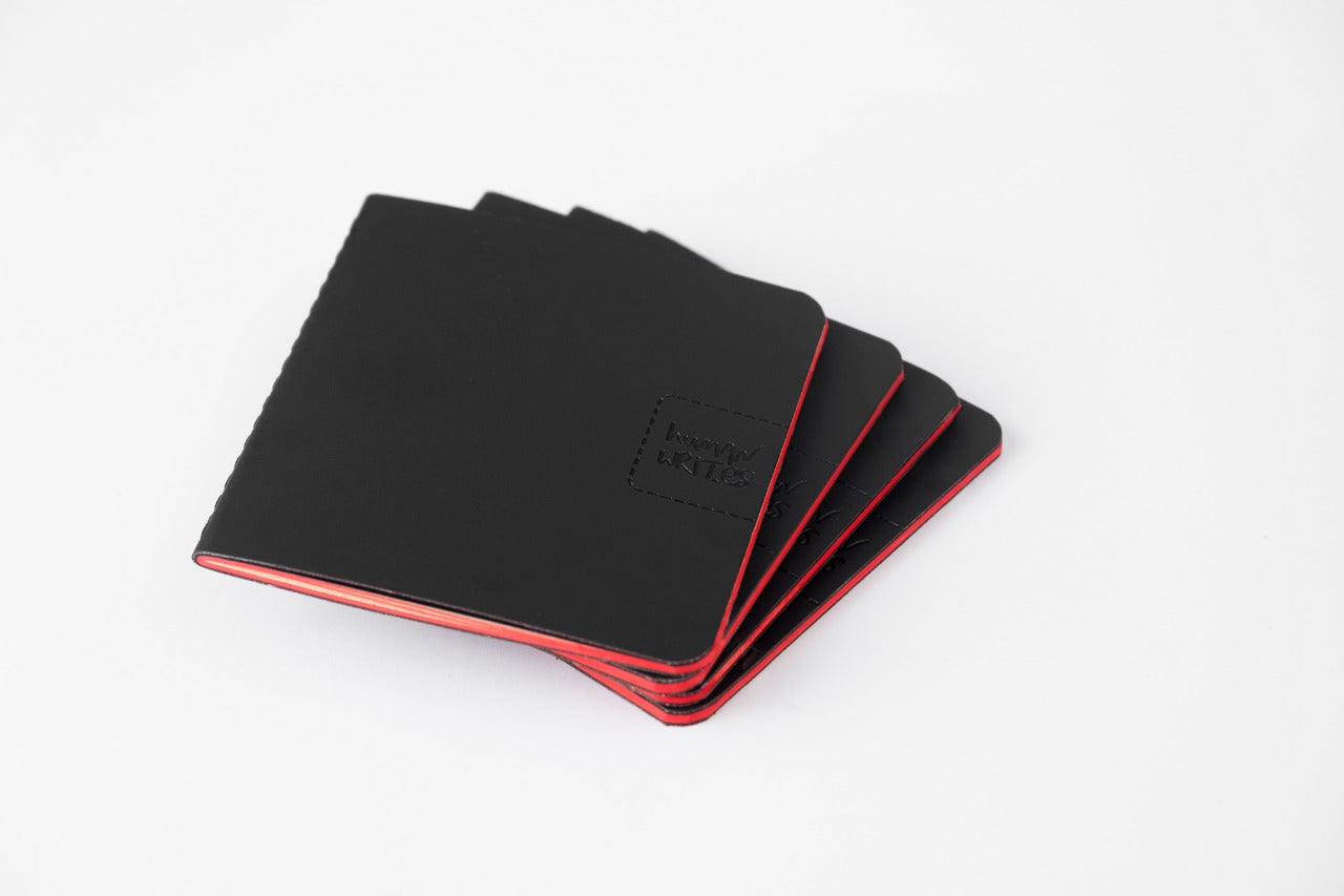 Premium leather Pockett Book (includes 4 Pockett Writables)