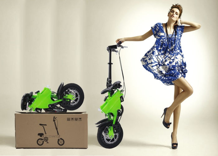 E-Bike - Most Compact Folding eBike at discount in 7 days free shipping by air dhl