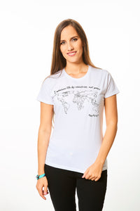 World Map Coloring T-shirt