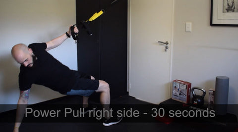 Power pull right side TRX