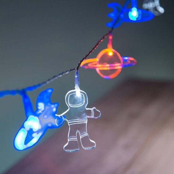 Space Explorer LED String Lights