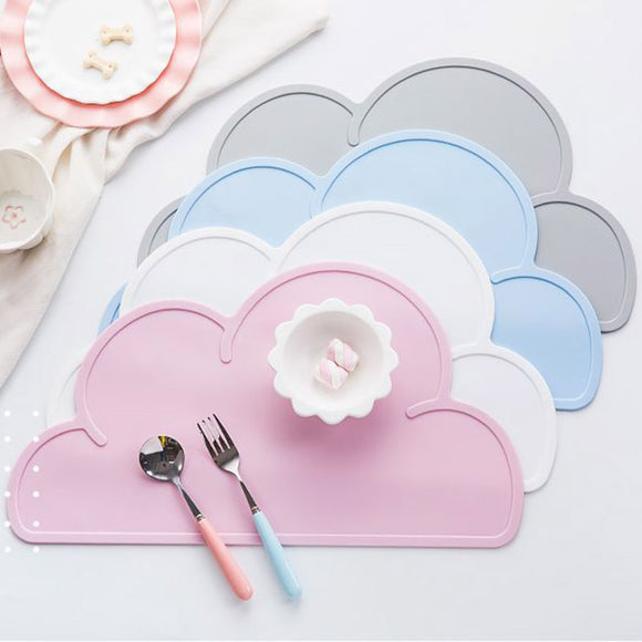 Cloud Shaped Non-Slip Silicone Placemat