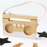 Wooden Radio Toy