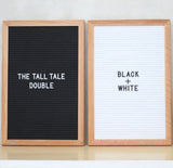 THE TALL TALE Double – Black + White
