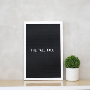THE TALL TALE – Black on White