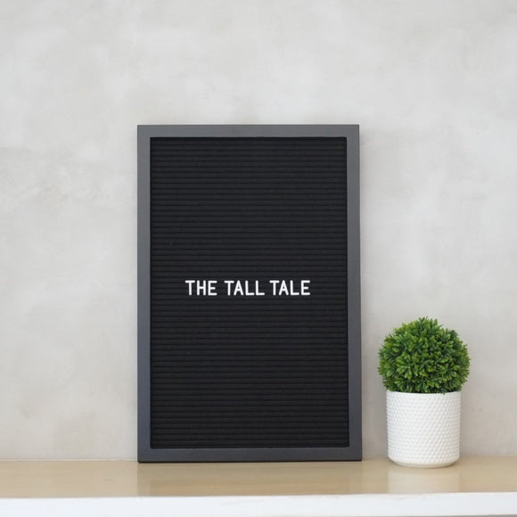 THE TALL TALE – All Black