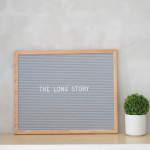 THE LONG STORY – Gray Oak
