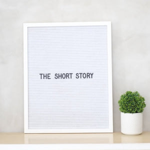 THE SHORT STORY – All White