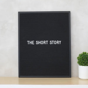 THE SHORT STORY – All Black Classic