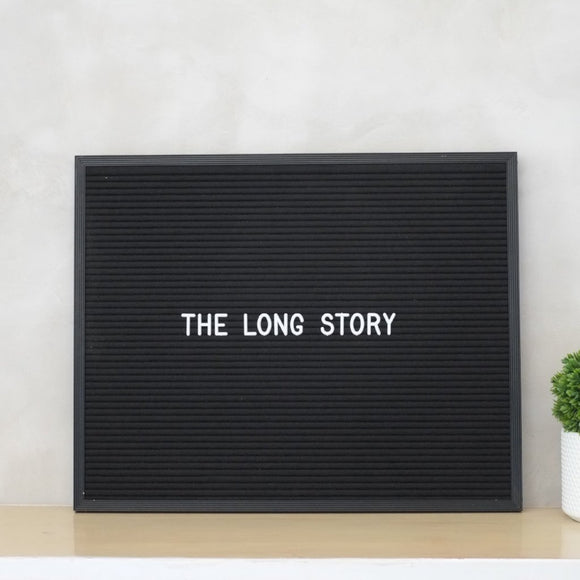 THE LONG STORY – All Black Classic