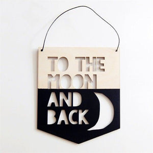 Wooden Hanging Pendant Sign