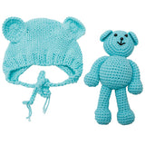 Newborn Baby Bear and Beanie Crochet Set