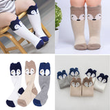 Cute Cartoon Fox Knee High Socks