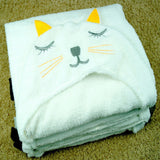 Sleepy Animals Soft Hooded Terry Towel Bathrobe