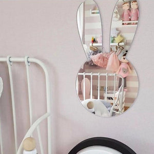 Wall Mirror Sticker Decal (without Wood Frame)