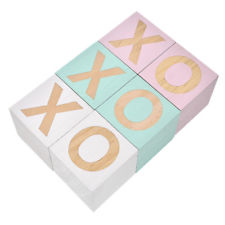 XO Letter Wooden Blocks