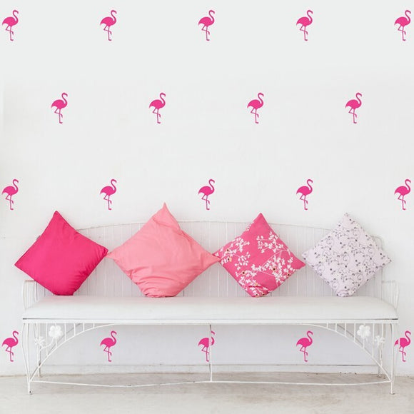 Flamingo Wall Stickers Vinyl Decal
