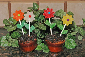 Flower Pot Cupcake Tutorial
