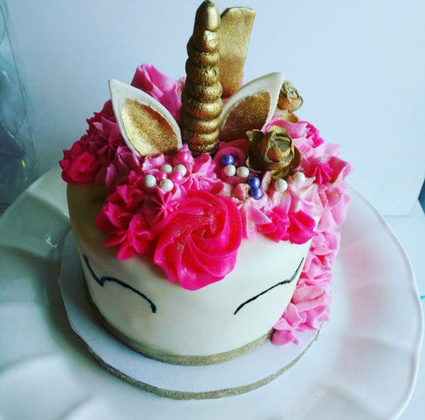 unicorn kids cake decorating class