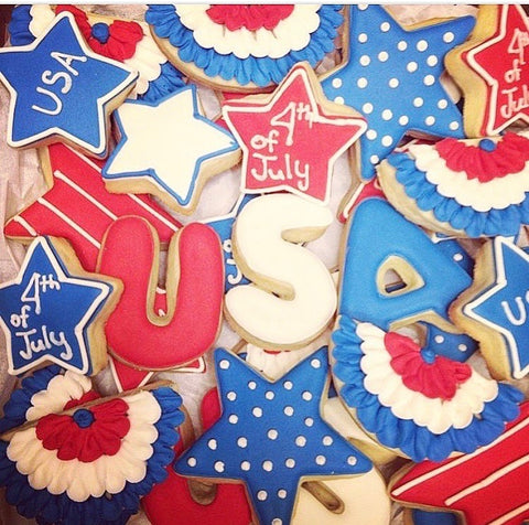 cookie decorating class 4th of july