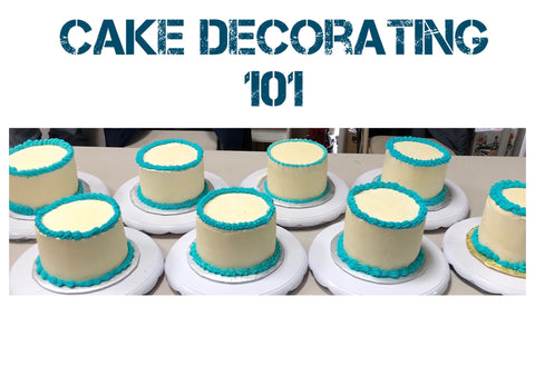 beginner cake decorating class