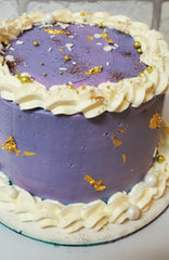 image of a cake that is an example of what will be decorated in a kids cake decorating class