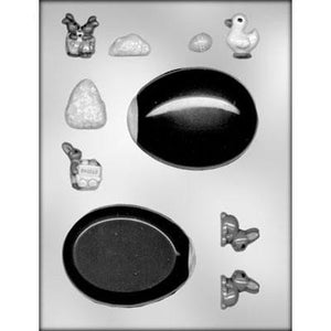 Panoramic Egg/Accessory 3D Chocolate Mold