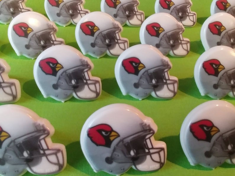 Cardinals Helmet Rings- 12 pc