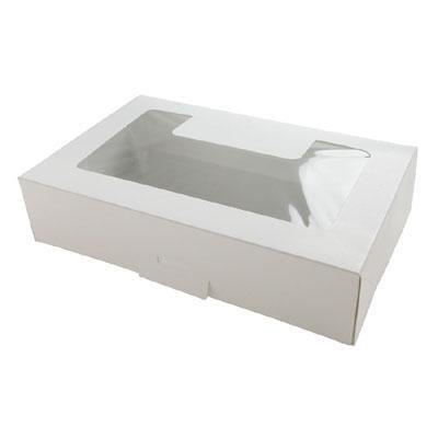 Cookie Box - White with Window - 1/2lb