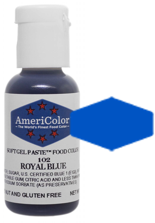 Americolor Soft Gel Paste Food Color - Royal Blue .75oz
