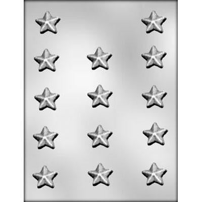 14Pc 3D Star Chocolate Mold