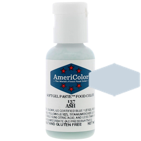 Americolor Soft Gel Paste Food Color - Ash