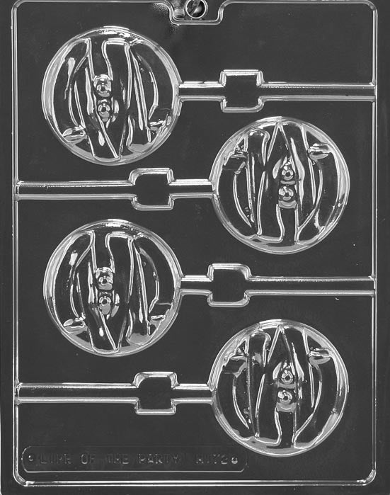 Mummy Face Lolly Chocolate Mold