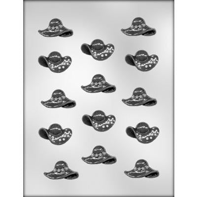 Hat Assortment Chocolate Mold