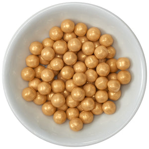 Gold Shimmer Sugar Pearls