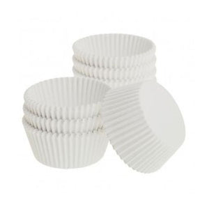 White Dry Wax Paper Baking Cups
