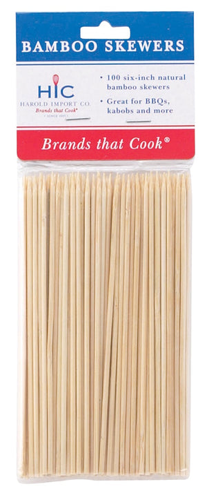 Bamboo Skewers - 6 inch