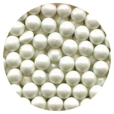 White Sugar Pearls - 7mm, 4oz
