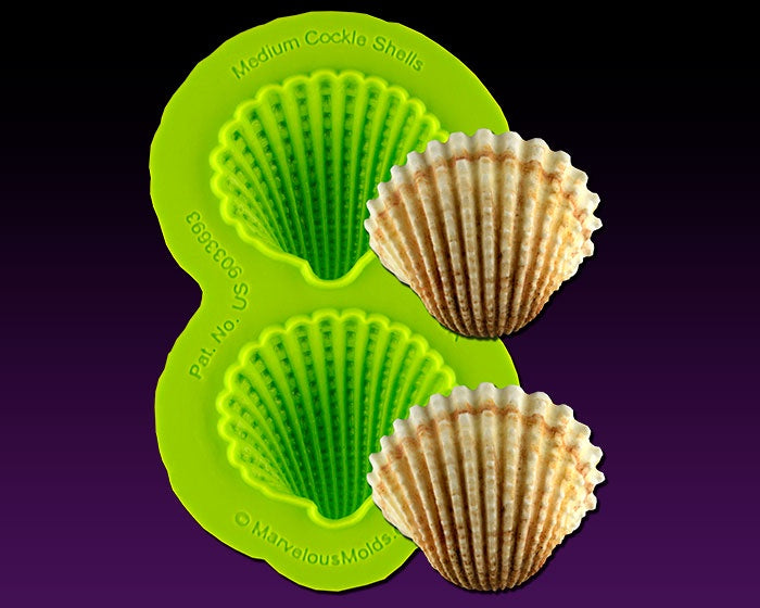 Medium Cockle Shell Mold