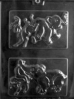 Political Elephant/Donkey for Chocolate Mold