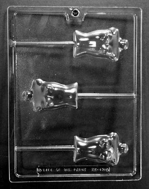 Mannequin Chest Lollipop Chocolate Mold