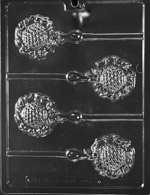 Rattle Lollipop Chocolate Mold