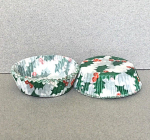 #6 Holly candy cups -75ish