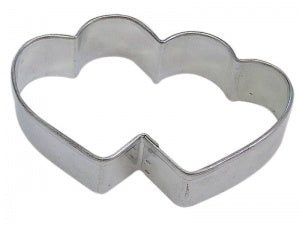 "3.5"" Double Heart Cookie Cutter"